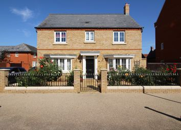 Thumbnail 4 bedroom detached house for sale in Pollards Way, Lower Stondon, Near Henlow, Bedfordshire