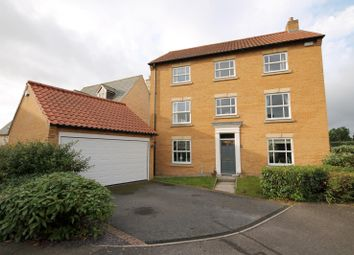 Thumbnail 5 bed detached house to rent in Gwash Close, Ryhall, Stamford