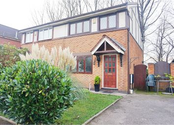 Thumbnail 3 bedroom semi-detached house for sale in Allan Roberts Close, Manchester