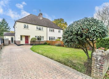 Thumbnail 3 bed semi-detached house for sale in Leigh Road, Hildenborough, Tonbridge, Kent