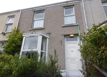 Thumbnail 3 bed terraced house for sale in Wheatfield Terrace, Swansea