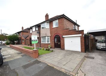 Thumbnail 3 bed semi-detached house for sale in Swinton Crescent, Bury, Greater Manchester