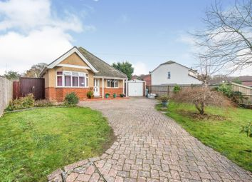 New Road, Netley Abbey, Southampton SO31. 3 bed detached bungalow for sale
