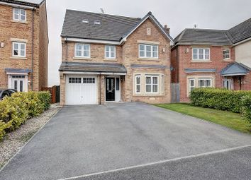 Thumbnail 6 bed detached house for sale in Sandringham Meadows, Blyth