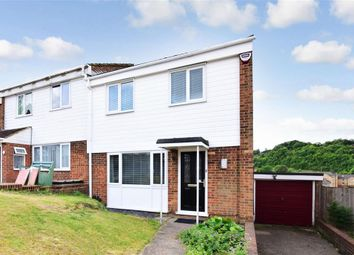 Thumbnail 3 bed semi-detached house for sale in Rush Close, Chatham, Kent