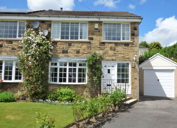 Thumbnail 3 bed semi-detached house for sale in Westmoor Close, Baildon, Shipley