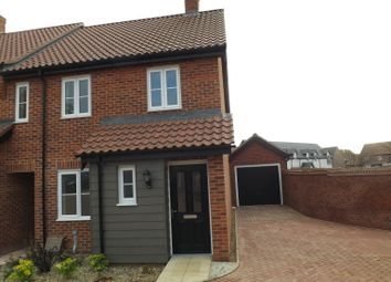 Thumbnail 3 bed terraced house to rent in Potters Way, Poringland