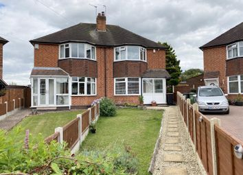 Thumbnail 3 bed semi-detached house for sale in Wakefield Grove, Water Orton, Birmingham