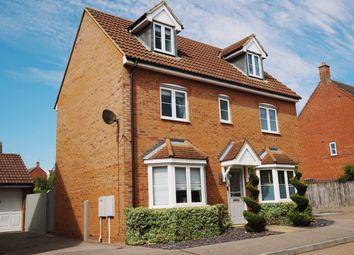 Thumbnail 4 bed detached house for sale in Foxholes Close, Deanshanger, Milton Keynes, Northamptonshire