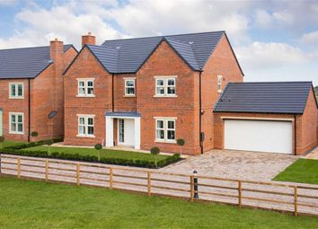 Thumbnail 4 bed detached house for sale in The Leas, Medburn, Ponteland