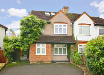 Thumbnail 4 bed semi-detached house for sale in Rendlesham Avenue, Radlett
