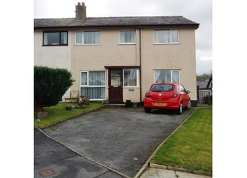 Thumbnail 4 bed semi-detached house for sale in Groeslon, Caernarfon