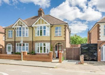 Thumbnail 3 bed semi-detached house for sale in Sidney Road, Bedford, Bedfordshire