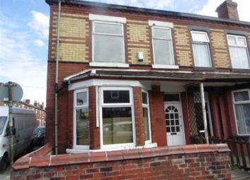 Thumbnail 3 bedroom end terrace house to rent in Devonshire Road, Eccles, Manchester
