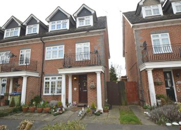 Thumbnail 1 bed town house to rent in Millpond Court, Addlestone