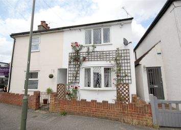 Thumbnail 2 bed semi-detached house to rent in Station Road, Chertsey, Surrey