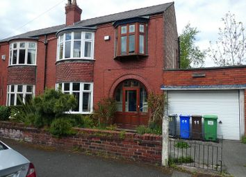 Thumbnail 4 bed semi-detached house for sale in Milton Grove, Whalley Range, Manchester.