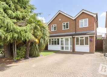 Thumbnail 4 bedroom detached house for sale in The Hedgerows, Northfleet, Gravesend, Kent