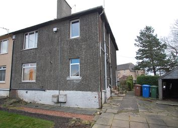 Thumbnail 2 bedroom flat for sale in Cadzow Avenue, Bo'ness