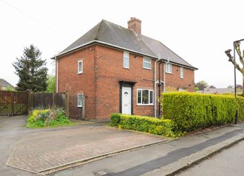 Thumbnail 2 bed semi-detached house for sale in Hill Top Road, Old Whittington, Chesterfield