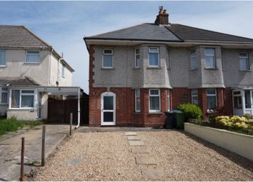 Thumbnail 3 bed semi-detached house for sale in Rossmore Road, Poole