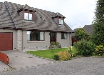 Thumbnail 4 bedroom link-detached house for sale in Craig Lea, Kemnay, Aberdeenshire