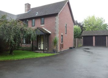 Thumbnail 3 bed detached house to rent in Forge Close, Bramley, Tadley