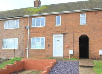 Thumbnail 3 bed terraced house to rent in Fairfield Close, Nether Langwith, Mansfield