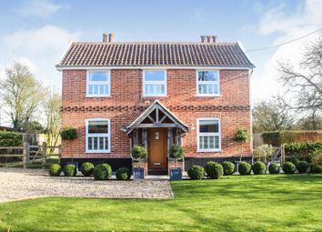 Thumbnail 3 bed detached house for sale in The Street, Ashfield- Cum- Thorpe, Stowmarket