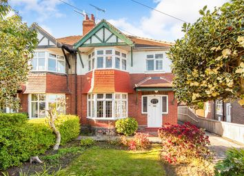 Thumbnail 3 bed semi-detached house for sale in Sandhill Oval, Alwoodley, Leeds