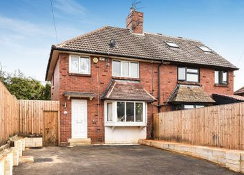 Thumbnail 3 bed semi-detached house for sale in Scott Hall Road, Leeds