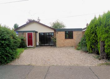 Thumbnail 3 bed detached bungalow for sale in Rosemary Road, Blofield Heath, Norwich