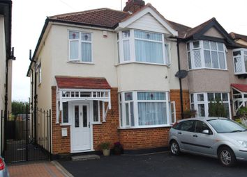 Thumbnail 4 bed semi-detached house for sale in Chester Avenue, Upminster, Essex