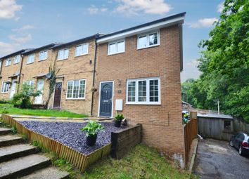 Thumbnail 1 bed end terrace house for sale in Estcots Drive, East Grinstead