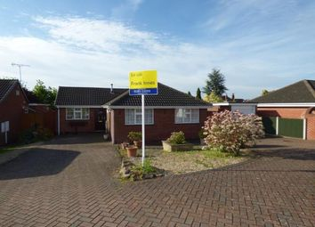 Thumbnail 3 bed bungalow for sale in Silverhill Close, Stretton, Burton-On-Trent, Staffordshire