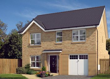 "Thumbnail 4 bedroom detached house for sale in ""The Rosebury"" at Glasgow Road, Denny"