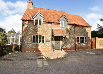 Thumbnail 4 bedroom detached house for sale in The Street, Kettlestone, Fakenham