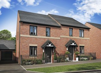 "Thumbnail 3 bedroom end terrace house for sale in ""Folkestone"" at Jn6 m54 Island, Telford"