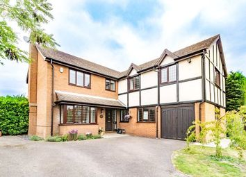 Thumbnail 5 bed detached house for sale in Windmill Field, Windlesham, Surrey
