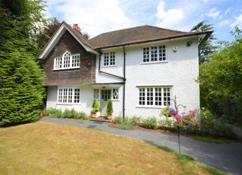 Thumbnail 4 bedroom detached house for sale in Glebe Road, Merstham, Redhill