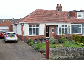 Thumbnail 3 bed semi-detached bungalow for sale in Station Road, Heddon On The Wall, Northumberland.
