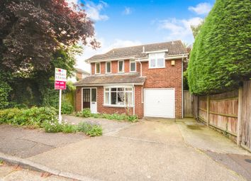 Thumbnail 4 bed detached house for sale in Kelvedon Close, Broomfield, Chelmsford
