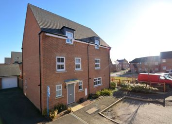 Thumbnail 3 bed semi-detached house for sale in Mendip Way, Corby
