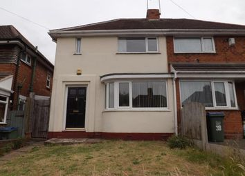 Thumbnail 3 bedroom semi-detached house for sale in Lewis Road, Oldbury, West Midlands