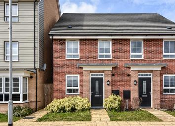 Thumbnail 2 bed semi-detached house for sale in Mercury Road, Ladywell Park, Wellingborough