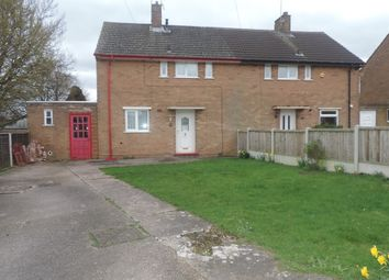 Thumbnail 2 bed semi-detached house for sale in Morton Road, Stafford, Staffordshire