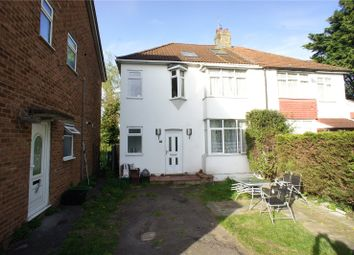 Thumbnail 4 bed semi-detached house for sale in Harvel Crescent, Abbey Wood, London
