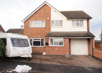 Thumbnail 4 bedroom detached house for sale in Park Street, Fleckney, Leicester