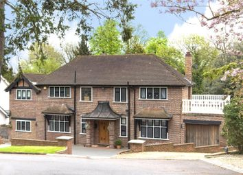 Thumbnail 5 bed detached house for sale in Pelhams Walk, Esher, Surrey
