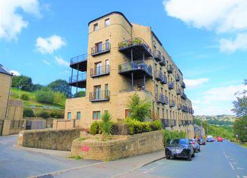 Thumbnail 2 bed flat for sale in Burrwood Court, Holywell Green, Halifax